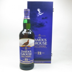 Famous Grouse 21 Year Old Blended Malt Front