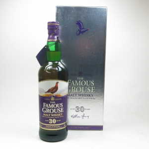 Famous Grouse 30 Year Old Blended Malt Front
