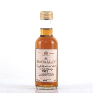 Macallan 18 Year Old 1972 Miniature 5cl