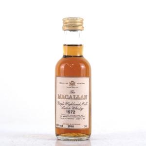 Macallan 18 Year Old 1972 Miniature 5cl
