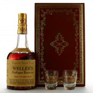 Weller's Antique Reserve 10 Year Old Original 110 Barrel Proof 1962 / Stitzel-Weller