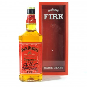 Jack Daniel's Tennessee Fire 1 Litre / Signed