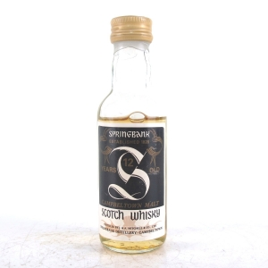 Springbank 12 Year Old 1980s Miniature 5cl