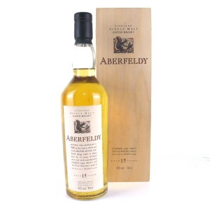 Aberfeldy 15 Year Old Flora and Fauna / Wooden Box