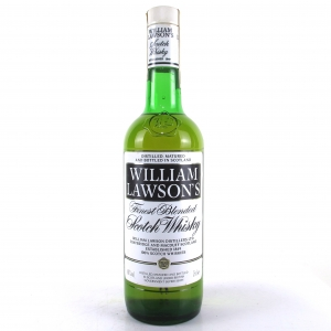 William Lawson's Finest Scotch Whisky 1980s / Martini & Rossi Import