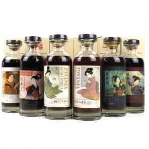 Karuizawa Geisha Collection Single Casks 6 x 70cl