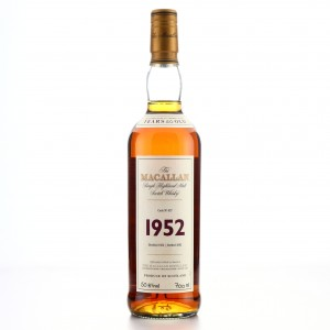Macallan 1952 Fine and Rare 50 Year Old #627
