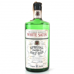 Burnett's White Satin Special Dry Gin 1980s