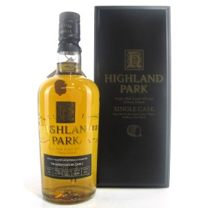 Highland Park 1996 Single Cask 10 Year Old / Ambassador Cask #2