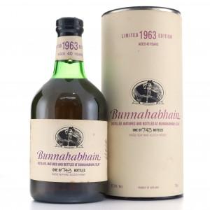Bunnahabhain 1963 40 Year Old