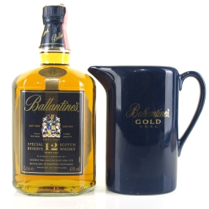 Ballantine's 12 Year Old 1 Litre 1980s / Includes Water Jug