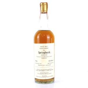 Springbank 1958 Duthie for Corti 75cl / US Import