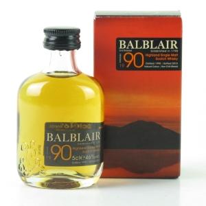 Balblair 1990 2nd Release Miniature 5cl