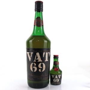 Vat 69 1970s / includes Miniature