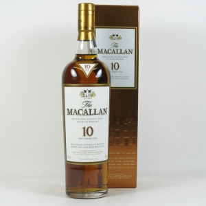 Macallan 10 Year Old Front