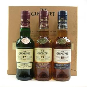 Glenlivet Tasting Experience 3 x 20cl