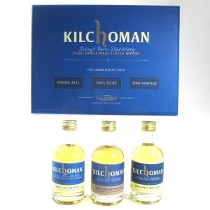 Kilchoman Connoisseur Pack 3 x 5cl