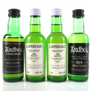 Islay Single Malt Miniature Selection 4 x 5cl