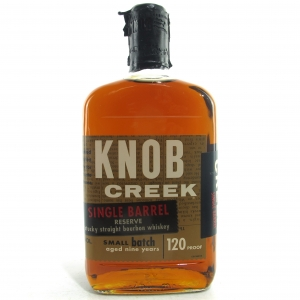 Knob Creek 9 Year Old Single Barrel Reserve 120 Proof