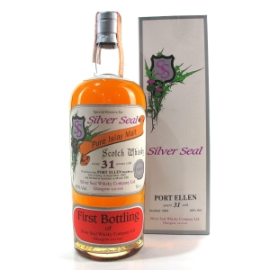 Port Ellen 1969 Silver Seal 31 Year Old / First Bottling