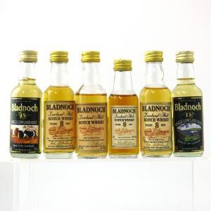 Bladnoch Miniature Selection 6 x 5cl