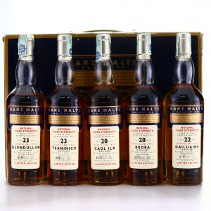 Rare Malts Selection Gift Pack 5 x 20cl / includes Brora