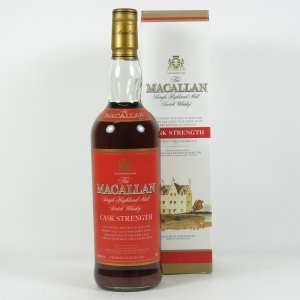 Macallan Cask Strength (US Import) 75cl front