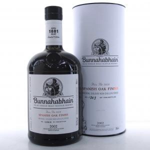 Bunnahabhain 2002 Spanish Oak Finish / Feis Ile 2018