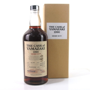 Yamazaki 1990 Single Cask #ON70646 Sherry Butt