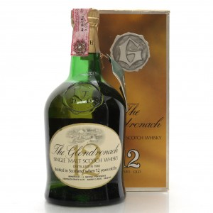 Glendronach 1962 Teacher's 12 Year Old / Ruffino Import