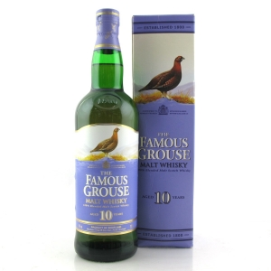 Famous Grouse 10 Year Old Blended Malt