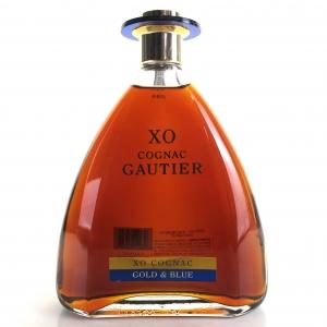 Gautier Gold & Blue XO Cognac 75cl / US Import