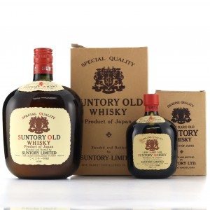 Suntory Old Whisky 76cl & 18cl
