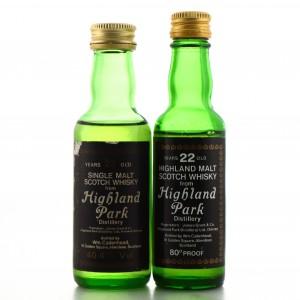 Highland Park Miniatures x 2