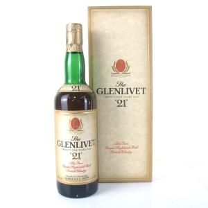Glenlivet 21 Year Old 1980s