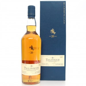 Talisker 30 Year Old 2007 Release