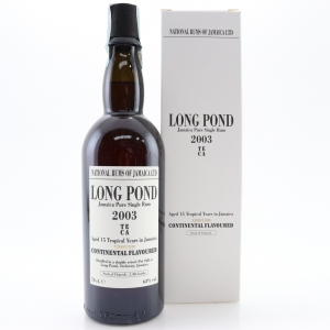 Long Pond 2003 15 Year Old Continental Flavoured Rum