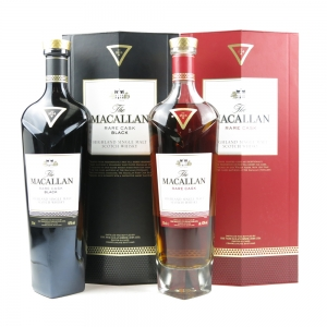 Macallan Rare Cask and Rare Cask Black 2 x 70cl