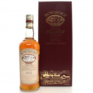 Bowmore 1972 Cask Strength 27 Year Old