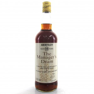 Aberfeldy 19 Year Old Manager's Dram 1991
