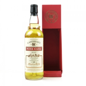 Bowmore 2003 Cadenhead's 13 Year Old / Burgundy Cask