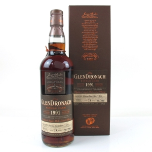 Glendronach 1991 Single Cask 18 Year Old # 2512