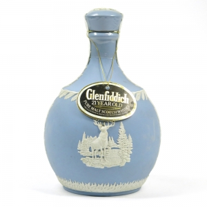 Glenfiddich 21 Year Old Wedgewood Decanter Front