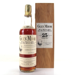 Glen Mhor 1970 Campbell and Clark 25 Year Old