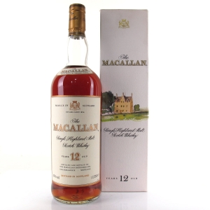 Macallan 12 Year Old 1 Litre 1980/90s