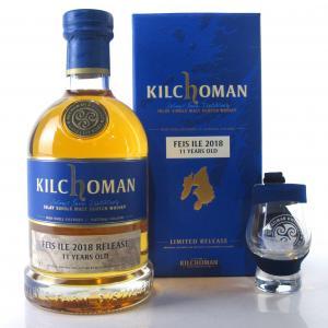Kilchoman 2007 Bourbon Barrel 11 Year Old with Glass / Feis Ile 2018