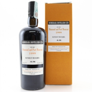 Diamond and Port Mourant 1999 Blended in the Barrel Rum