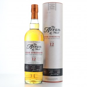 Arran 12 Year Old Cask Strength Batch #1