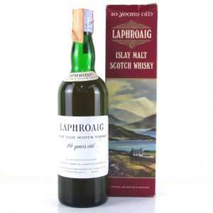 Laphroaig 10 Year Old 1970s / Bonfant Import