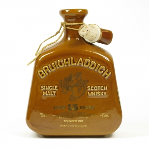 Bruichladdich 15 Year Old Decanters Front